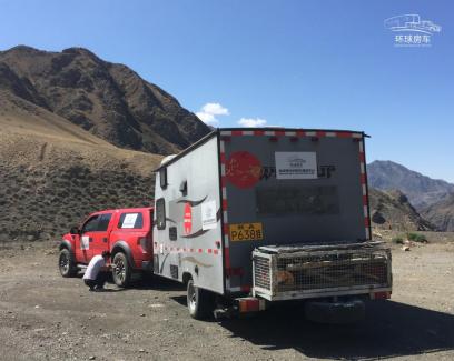拖挂式房车在新疆